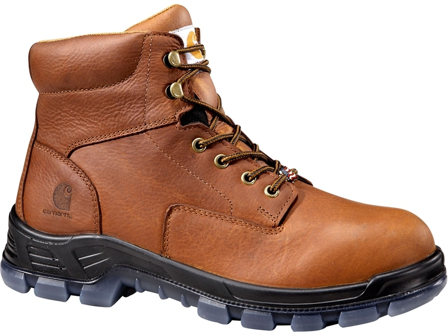 """Carhartt 6"""" Waterproof Composite Safety Toe Work Boots Leather Men's"""