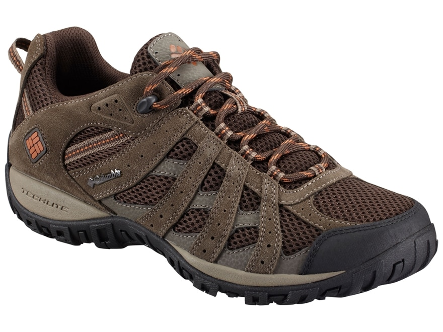 "Columbia Redmond Low 4"" Waterproof Hiking Shoes Leather/Synthetic Men's"