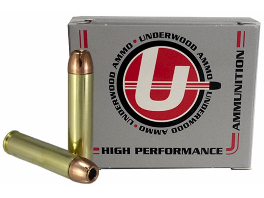 Underwood Ammunition 45 Raptor 240 Grain Hornady XTP Jacketed Hollow Point Box of 20