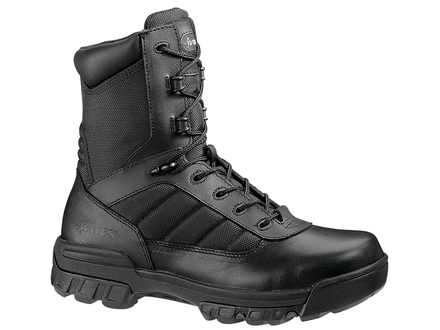 "Bates Tactical Sport 8"" Composite Safety Toe Side-Zip Tactical Boots Leather/Nylon Men's"