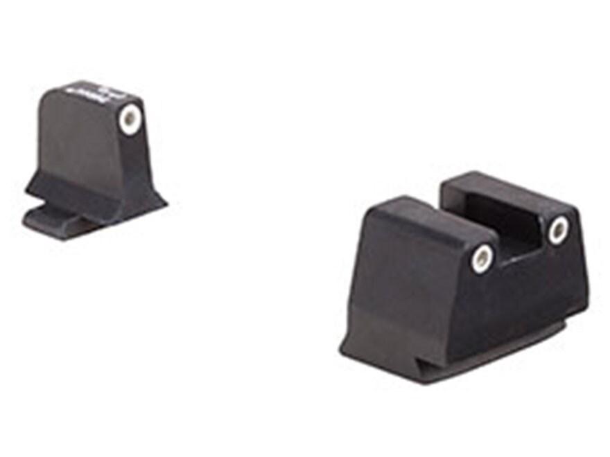 Trijicon Bright & Tough Suppressor Night Sight Set FN FNS-40, FNX-40, FNP-40 Steel Matt...