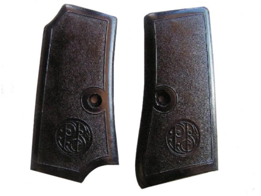 Vintage Gun Grips Beretta 1934 Early Model, Inserts Only Polymer Black
