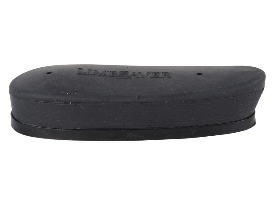 Limbsaver Recoil Pad Grind to Fit Rubber Black