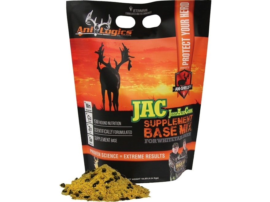Anilogics JustAddCorn Base Mix Deer Supplement in 10 lb Bags