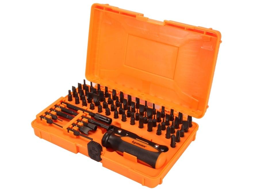 Lyman 68-Piece Master Gunsmith Screwdriver Set
