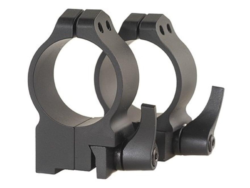 Warne 30mm Quick-Detachable Ring Mounts Ruger 77