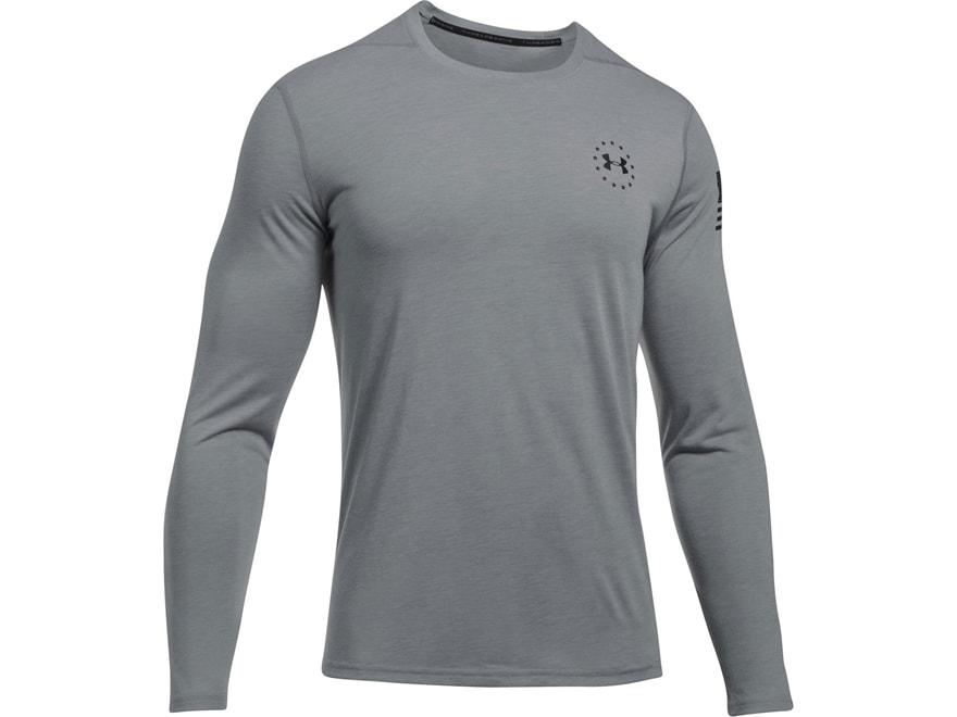 Under Armour Men's UA Freedom Threadborne Siro T-Shirt Long Sleeve Polyester