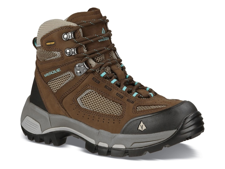 "Vasque Breeze 2.0 GTX 5"" Hiking Boots Waterproof GORE-TEX Leather/Nylon Slate Brown and..."