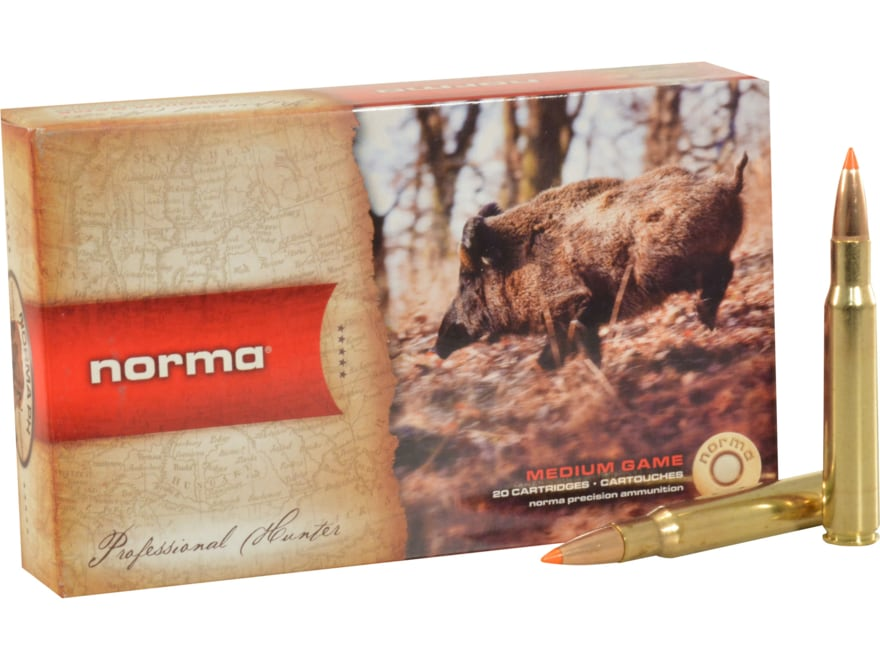 Norma USA TipStrike Ammunition 30-06 Springfield 170 Grain Polymer Tip Flat Base Box of 20