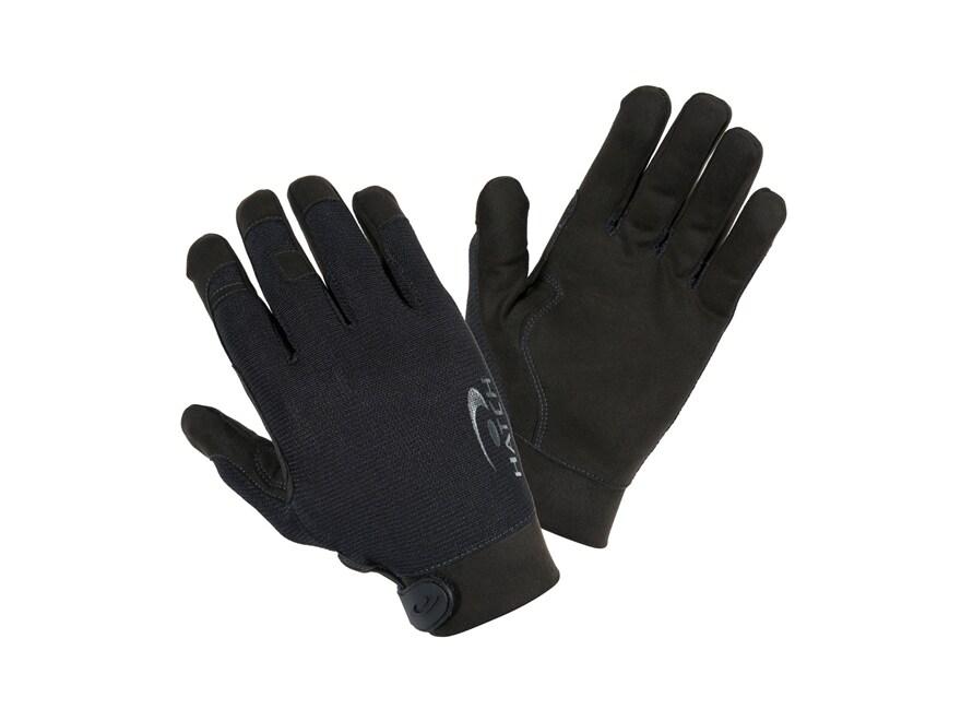Hatch Task Medium Cut-Resistant Gloves Synthetic and Kevlar Black