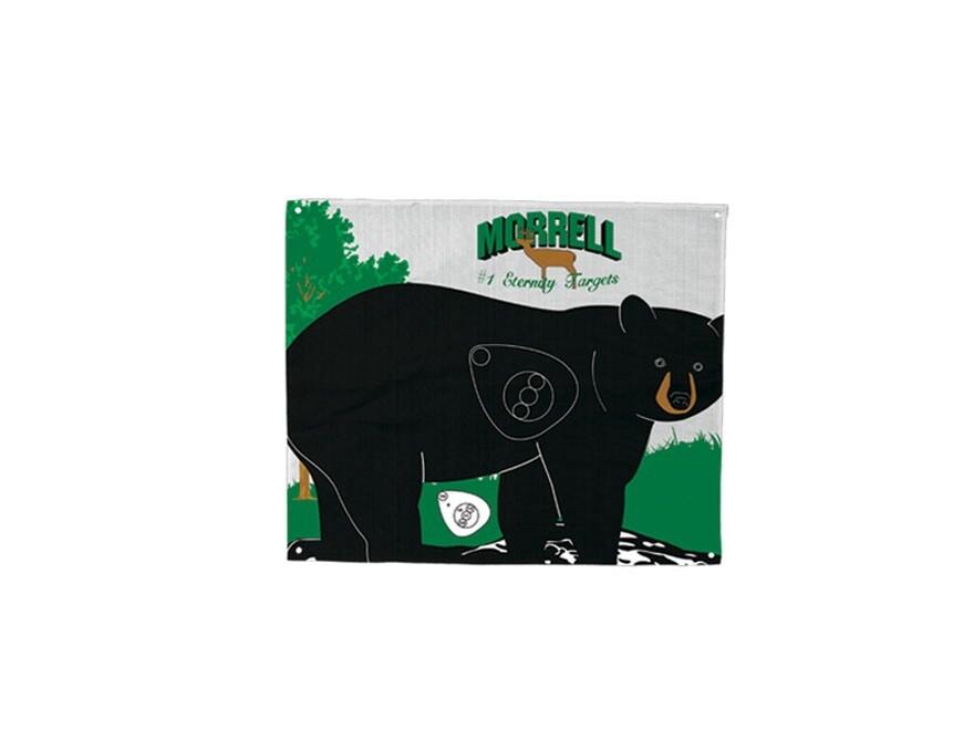 Morrell Polypropylene Archery Target Face Walking Bear