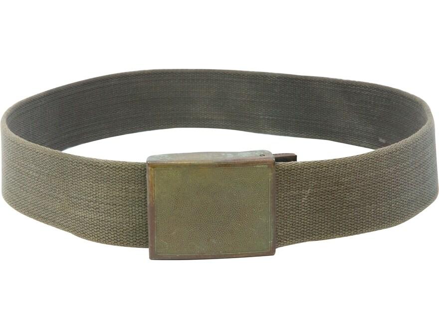 Military Surplus German Combat Belt Olive Drab