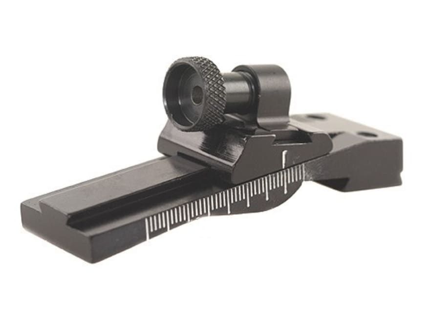 Williams WGRS-M1 Carbine Guide Receiver Peep Sight 30 Carbine (Fits Dovetail) Aluminum ...