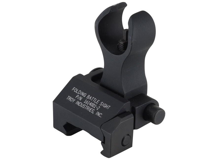 Troy Industries Front Flip-Up Battle Sight HK-Style AR-15 Aluminum