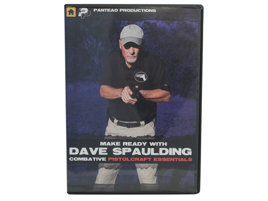 """Panteao """"Make Ready with Dave Spaulding:  Combative Pistolcraft Essentials"""" DVD"""