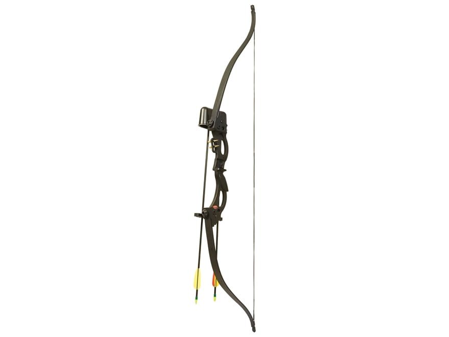 PSE Cody Recurve Bow Package 15 lb Right Hand Black
