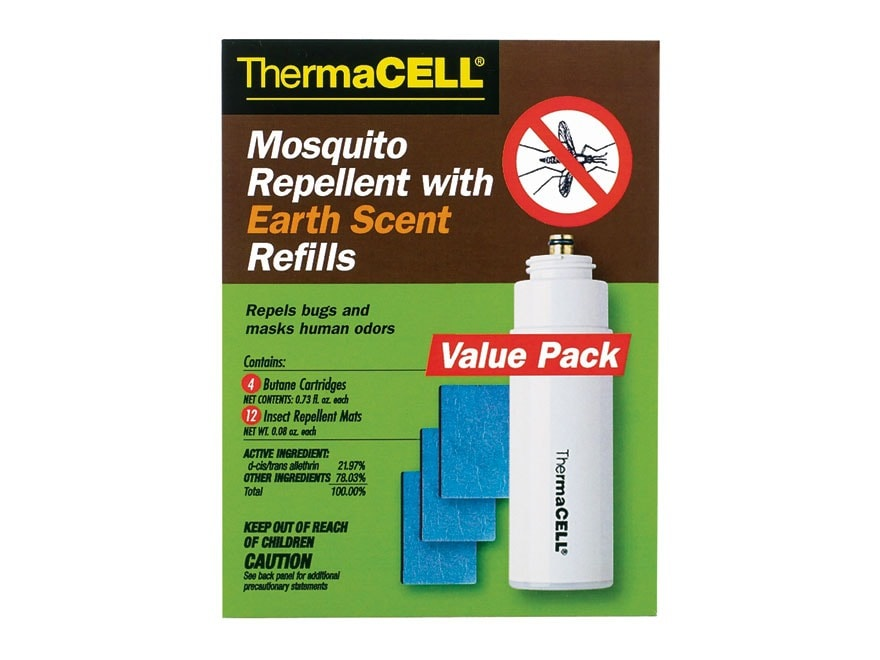Thermacell Mosquito Repellent Earth Scent Refill