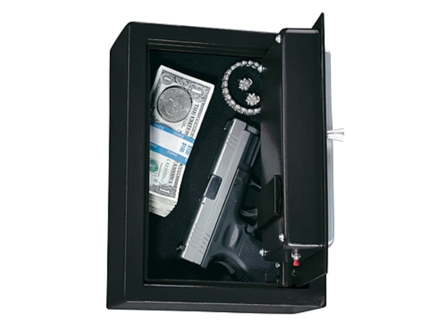 Stack On Pistol Drawer Safe With Electronic Lock Charcoal Gray