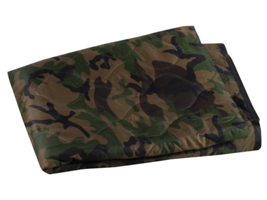 """5ive Star Gear Mil-Spec Poncho Liner 81"""" x 63"""" Quilted Nylon"""