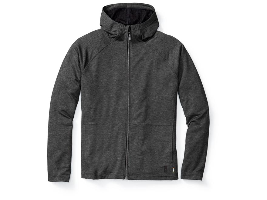 Smartwool Men's Active Reset Hooded Sweatshirt Polyester/Merino/Viscose Charcoal