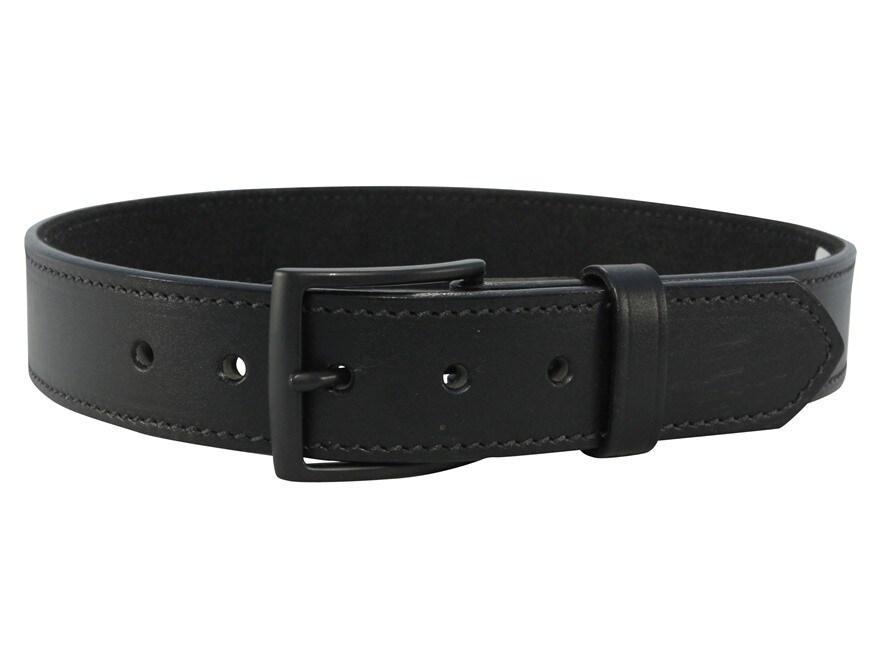 "DeSantis E25 Belt 1.5"" Steel Buckle Leather Black"