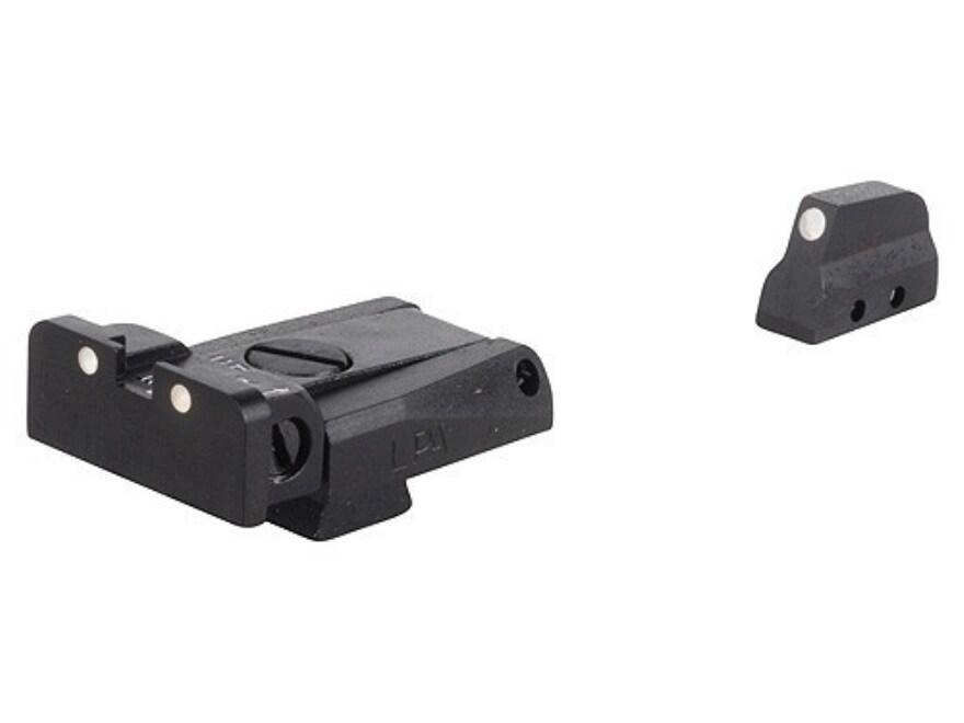 LPA SPR Sight Set Beretta 92, 96, 98 M9 Steel 3-Dot