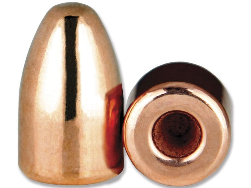 Berry's Superior Plated Bullets 9mm (356 Diameter) 124 Grain Plated Hollow Base Round N...
