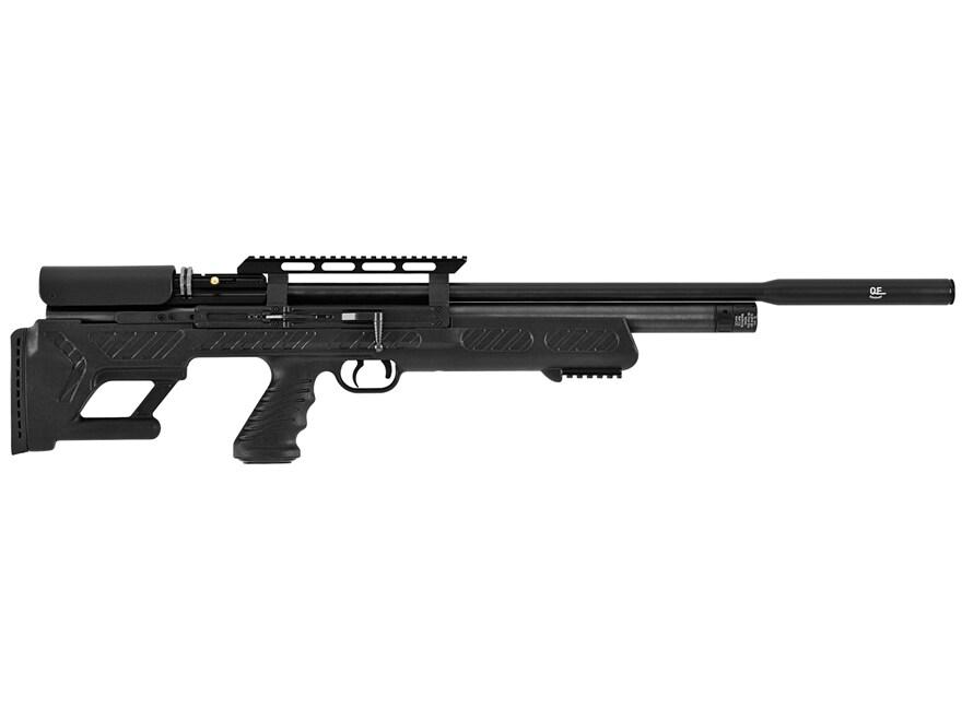 Hatsan BullBoss PCP Air Rifle Pellet Black Polymer Stock Black Barrel