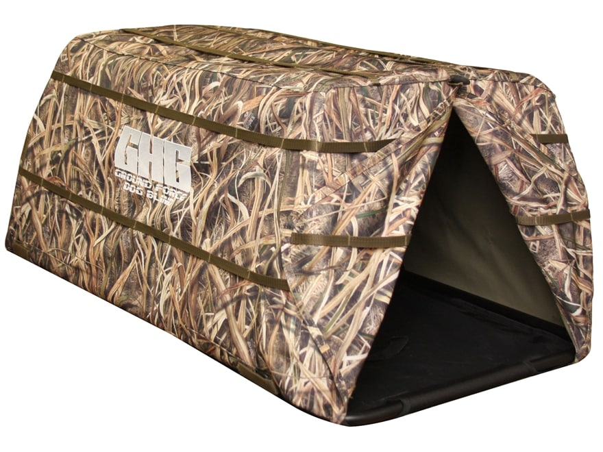 GHG Ground Force Dog Blind Polyester Mossy Oak Shadow Grass Blades