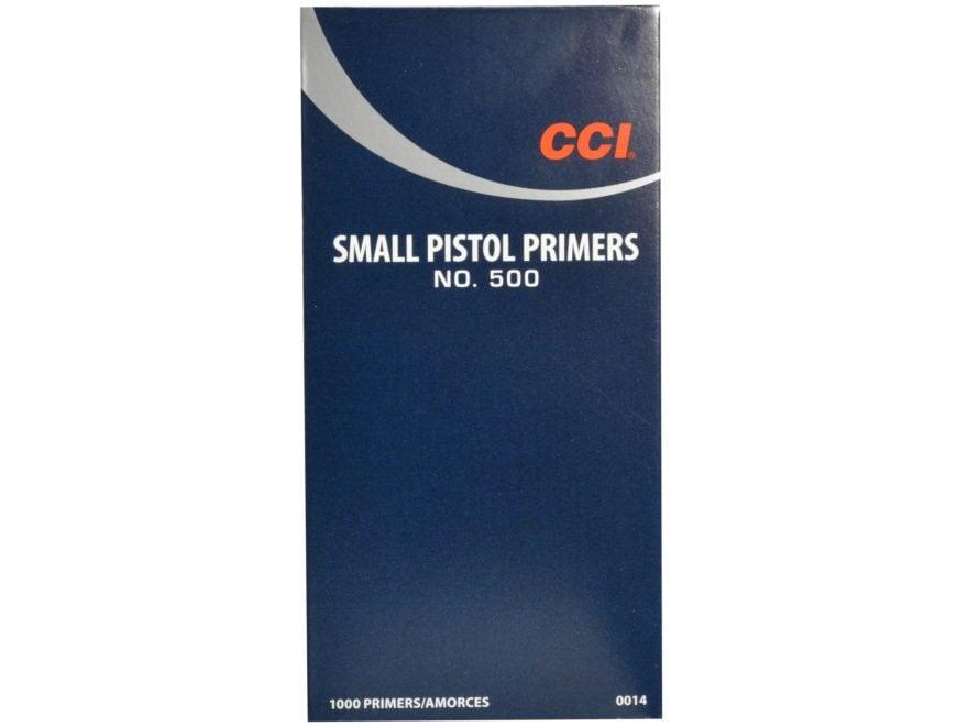 CCI Small Pistol Primers #500