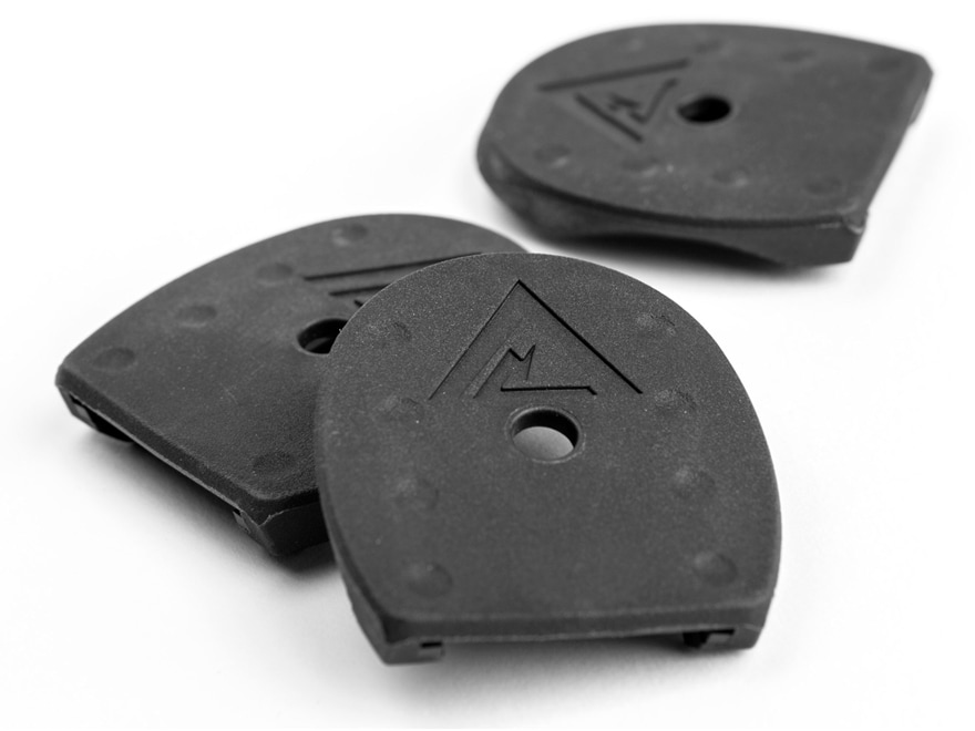Vickers Tactical Magazine Floor Plates Springfield XD 9mm, 357 Sig, 40 S&W Polymer Blac...