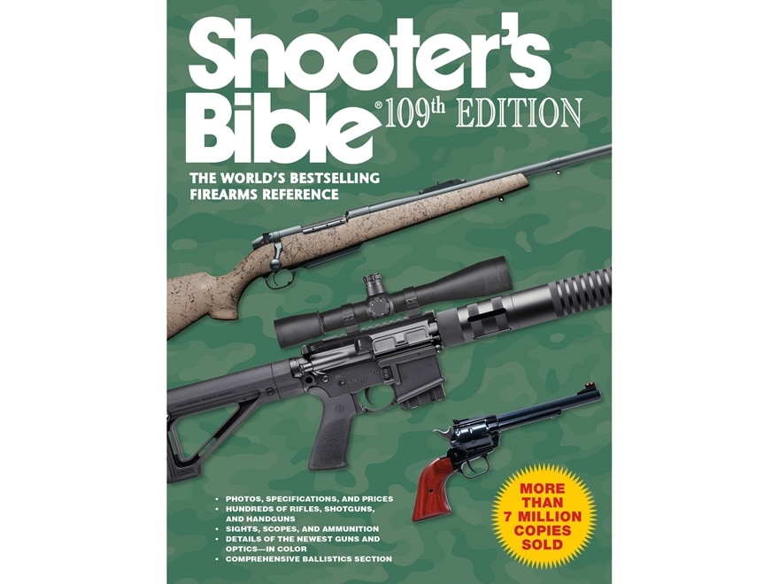 """Shooter's Bible, 109th Edition"" Book by Jay Cassell"