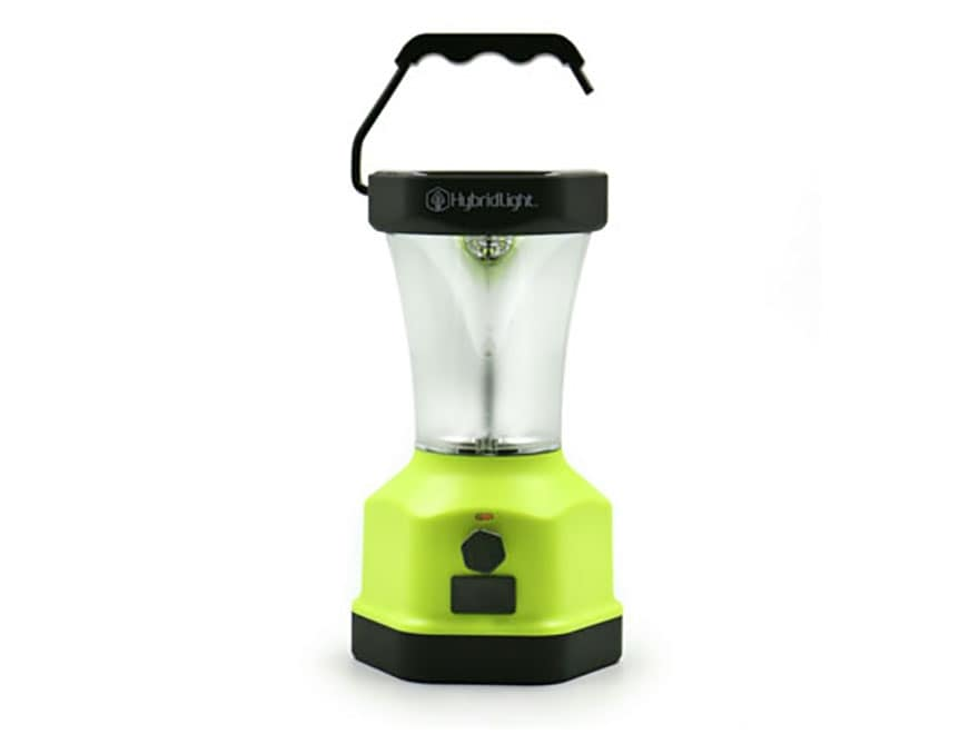 HybridLight Atlas Expandable Solar Lantern LED Rechargeable Battery Yellow