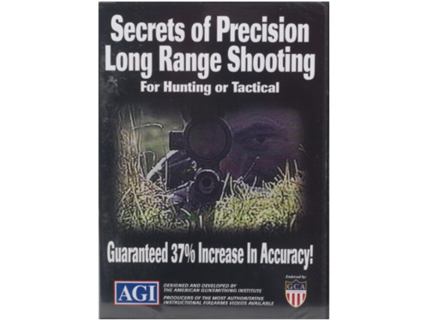 "American Gunsmithing Institute (AGI) Video ""Secrets of Precision Long Range Shooting fo..."