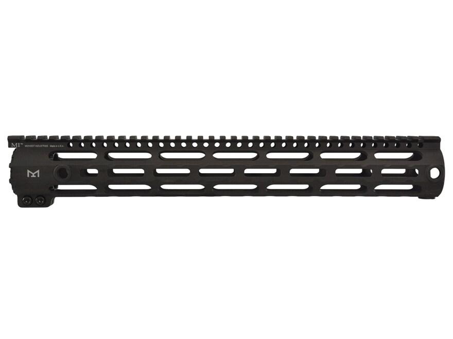 Midwest Industries SS-Series Free Float M-Lok Handguard Low Profile DPMS LR-308 Aluminu...