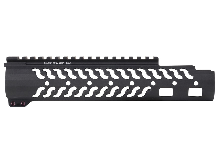 Samson Evolution Series EX Extended Customizable Free Float Handguard AR-15 Aluminum Matte