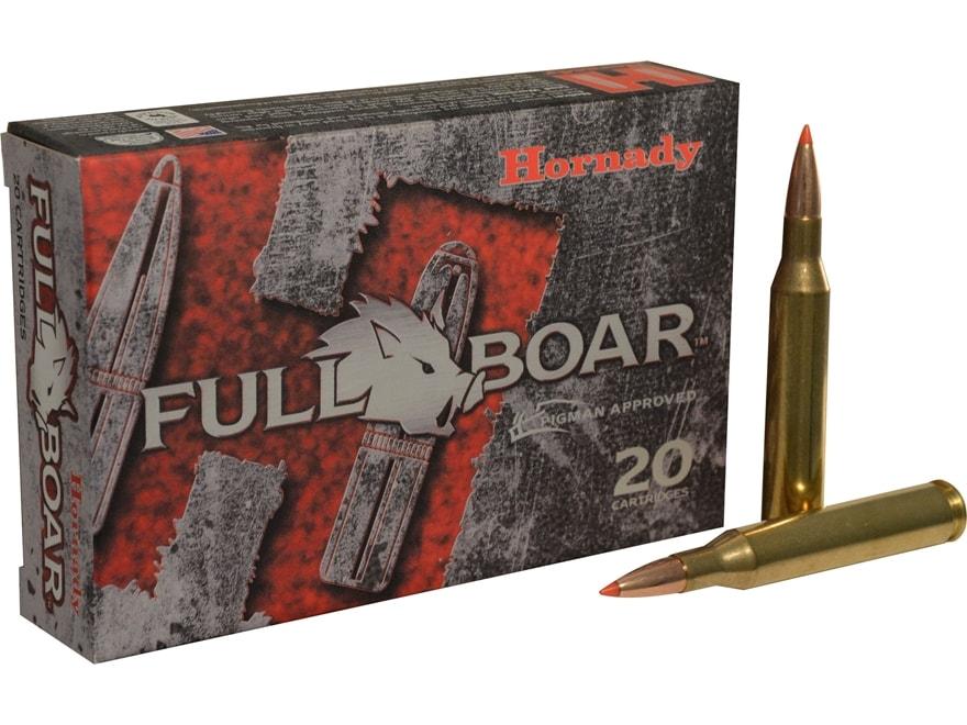 Hornady Full Boar Ammunition 25-06 Remington 90 Grain GMX Boat Tail Lead-Free Box of 20