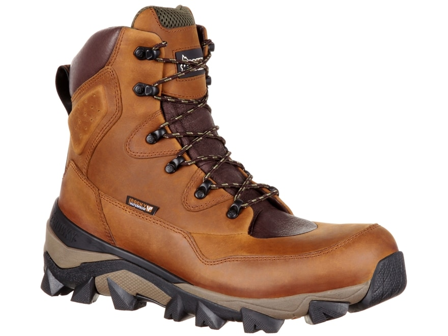 """Rocky Claw 8"""" Waterproof 400 Gram Insulated Hunting Boots Leather Men's"""