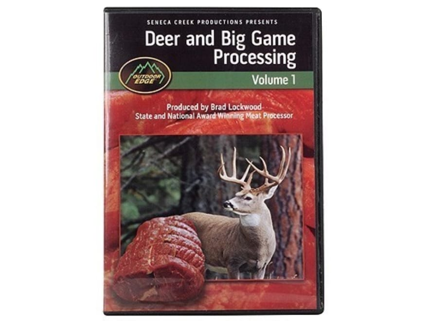 """Outdoor Edge Video """"Deer Processing 101"""" DVD"""