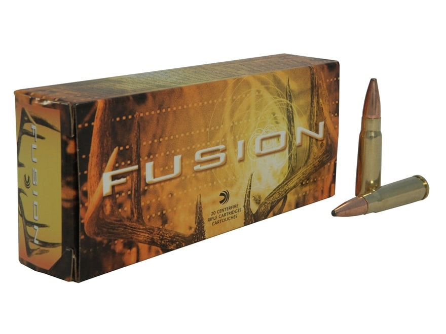 Federal Fusion Ammunition 7.62x39mm 123 Grain Spitzer Boat Tail