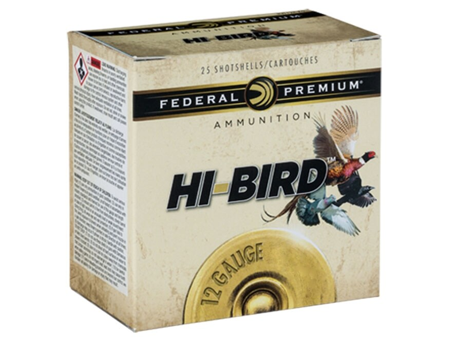 "Federal Premium Hi-Bird Dove, Pigeon, and Upland Ammunition 12 Gauge 2-3/4"" 1-1/8 oz #7..."