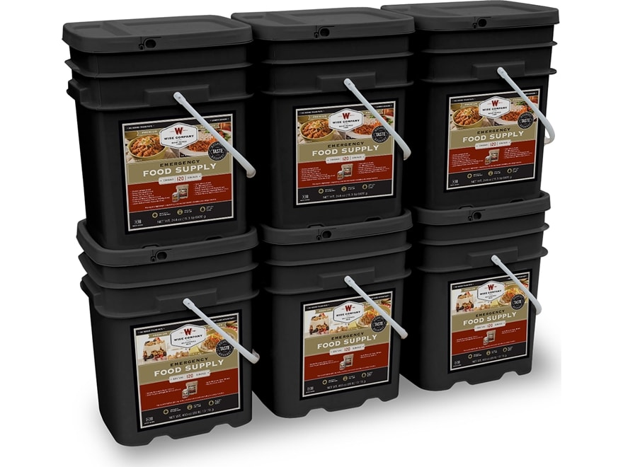 Wise Company 720 Serving Meat Freeze Dried Food Kit