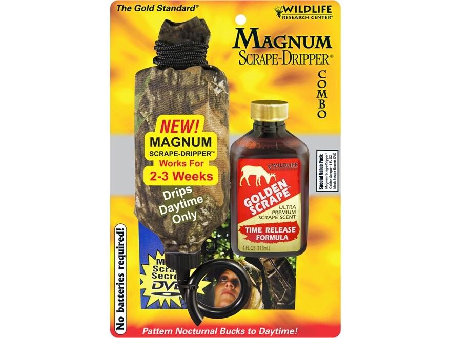 Wildlife Research Center Magnum Scrape Dripper Golden Scrape Deer Scent Combo