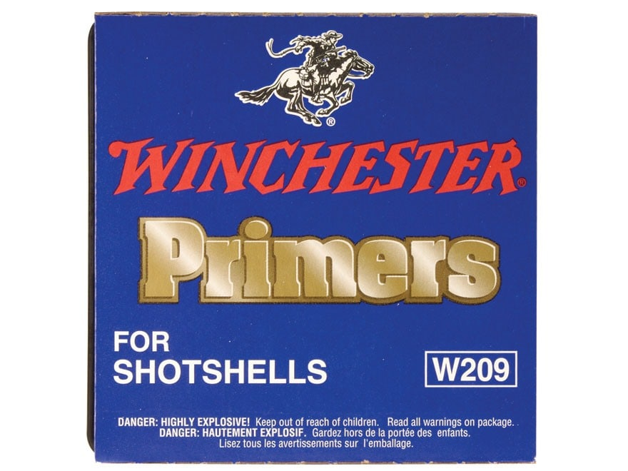 Winchester Primers #209 Shotshell