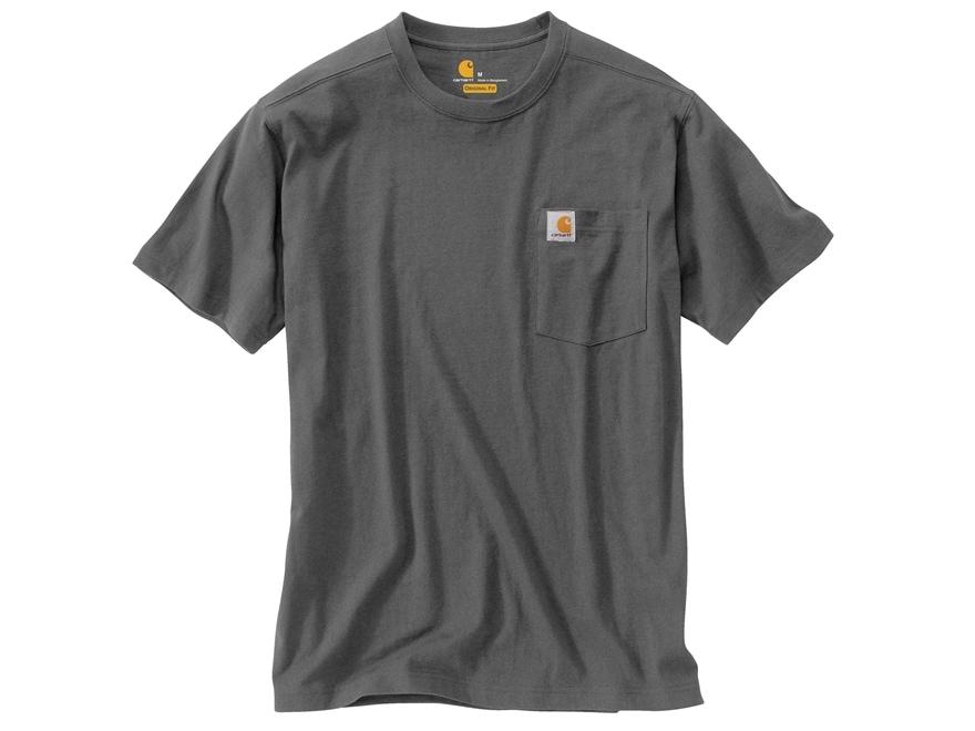 Carhartt Men's Maddock Pocket T-Shirt Short Sleeve Cotton/Polyester