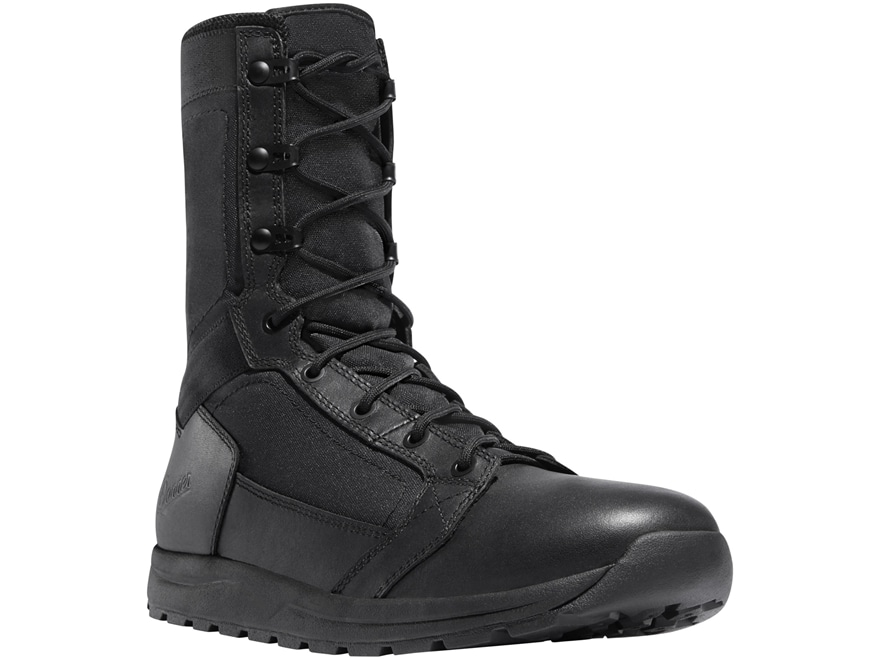 "Danner Tachyon 8"" Polishable Toe Tactical Boots Leather Black Men's"