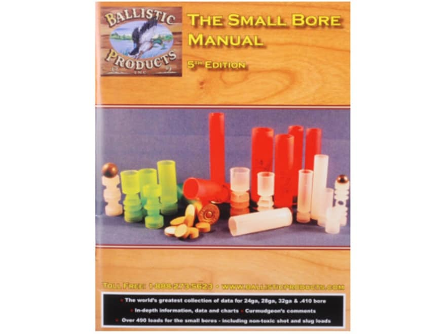 "BPI ""The Small Bore Manual: 5th Edition"" Reloading Manual"