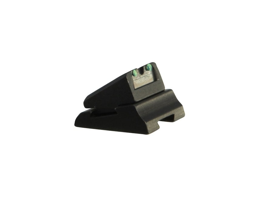 """Williams Fire Sight Rear Sight Slide and Blade Replacement 5/16"""" Aluminum Black Fiber O..."""