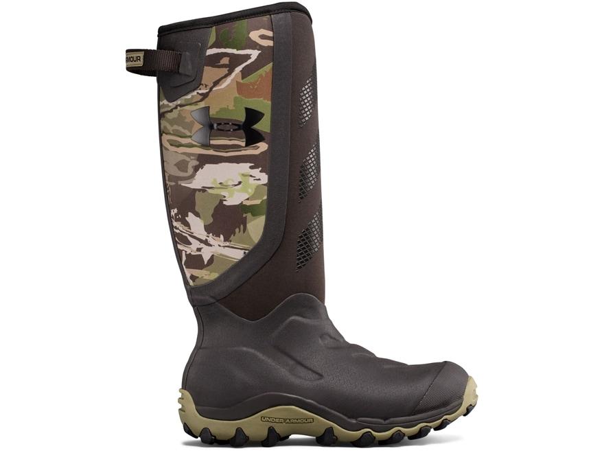 "Under Armour UA Hawgzilla 16"" Waterproof Hunting Boots Rubber Men's"