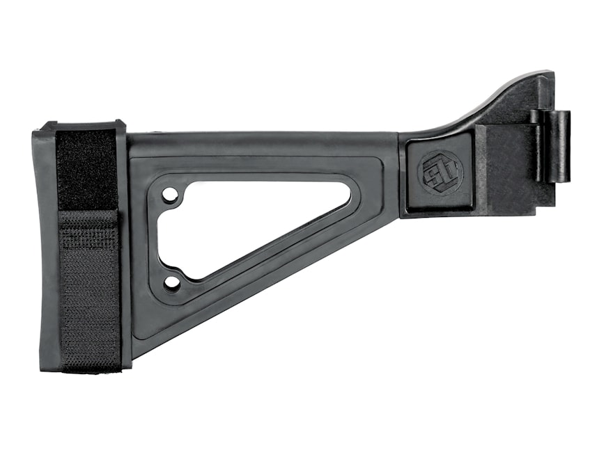 SB Tactical SBTi Pistol Stabilizing Brace Side Folding with Adapter B&T APC, HK UMP